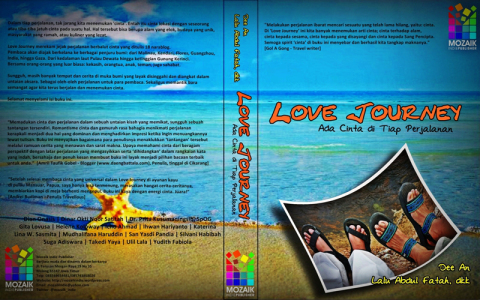cover Buku Love Journey